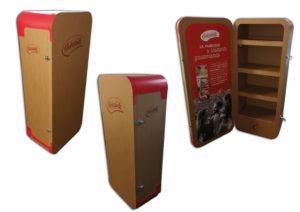 mobilier personnalisé en carton