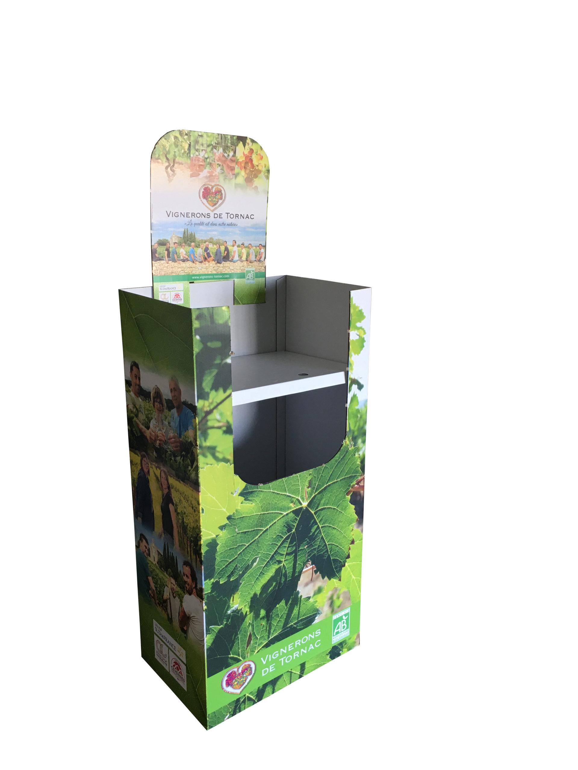 Box en carton sur mesure