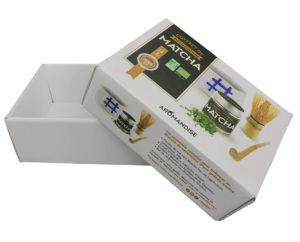 fond couvercle carton packaging